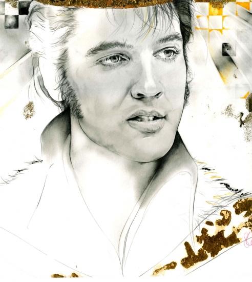 Elvis Presley por Teah